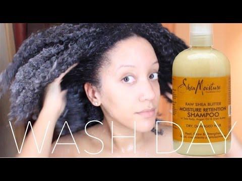 WASH & REVIEW | Shea Butter Shampoo