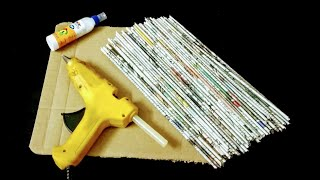 Download 2 Useful Things you can make using newspaper Video