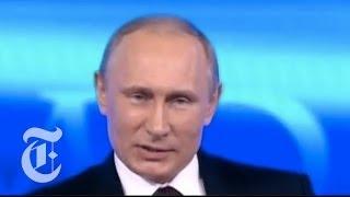 Edward Snowden Asks Vladimir Putin About Surveillance | The New York Times