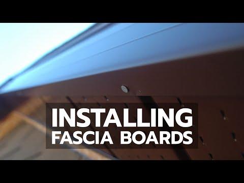 Installing Fascia Boards