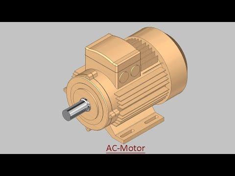 AC-Motor (Video Tutorial) Autodesk Inventor