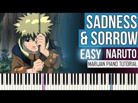 How To Play: Naruto - Sadness & Sorrow | Piano Tutorial EASY + Sheets