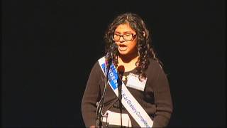 Gardere MLK Jr. Oratory Competition 2017 - Andrea Botho, F. Douglass ES