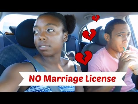 We Couldn't Get Our Marriage License