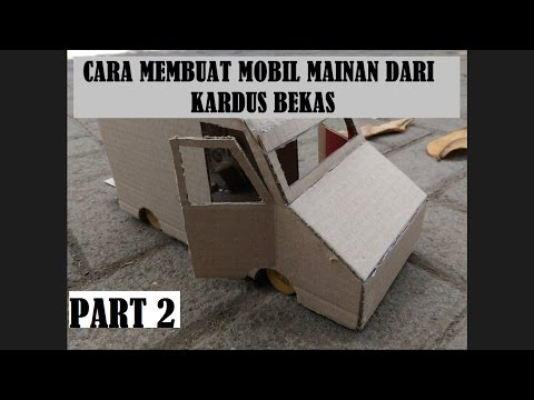 Tutorial - How to Make a Car Toy With Recycled Cardboard - Part 2 - Slow Building
