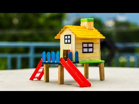 5 Amazing Popsicle Stick House Ideas