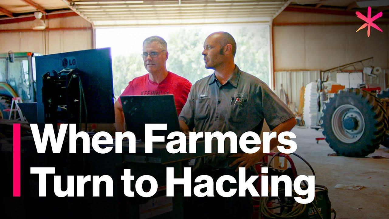 Tractor-Hacking Farmers Take on John Deere
