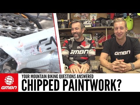 How Can I Repair Paint Chips On My Bike?   Ask GMBN Anything About Mountain Biking