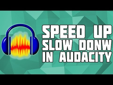 How to Change Speed in Audacity Without Chipmunk Effect! Change Speed in Audacity! Speed up Audio!