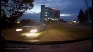 Speeding Driver loses control and hits tree - Berwick VIC