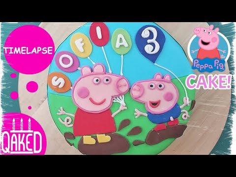 Peppa Pig Cake (2D) | How to & DIY