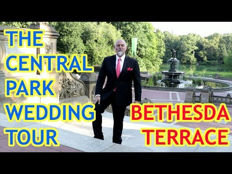 The Central Park Wedding Tour - Bethesda Terrace