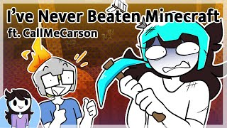 I tried to beat Minecraft with CallMeCarson
