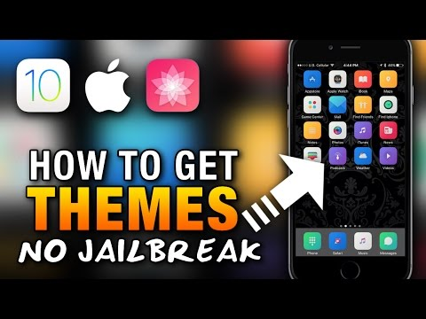 How To Get THEMES On iOS 10 NO JAILBREAK - iPhone - iPad - iPod Touch