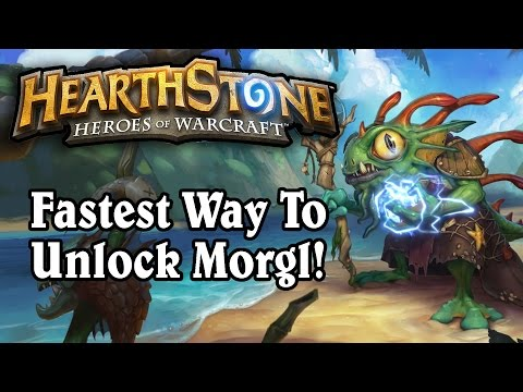 Hearthstone: Fastest Way To Unlock Morgl Shaman Hero Portrait