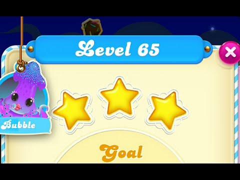 Candy Crush Soda Saga Level 65 3-STAR No Boosters