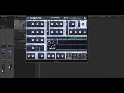 NI Massive - Tempo Synced Risers