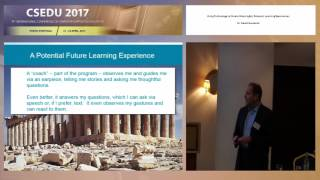 """""""Using Technology to Create Meaningful, Relevant Learning..."""" Dr. David Guralnick (CSEDU 2017)"""