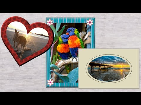 Adding Picture Frames to your Photos in PaintShop Pro