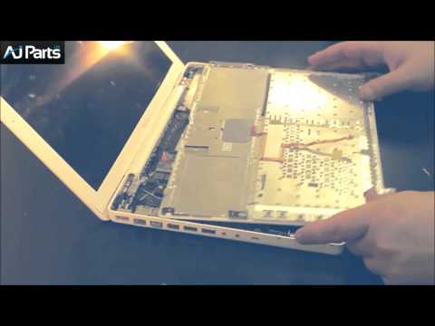 How to replace a keyboard on an Apple Macbook A1181
