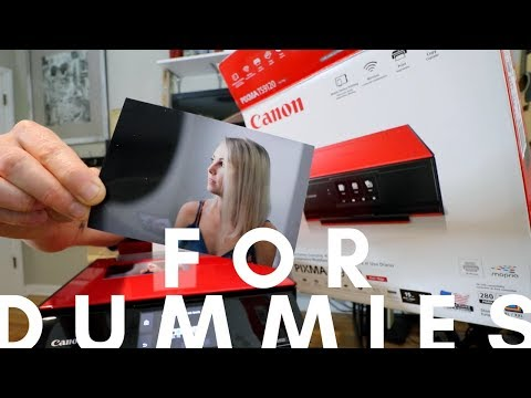 UNBOXING | WIRELESS LAN | SET UP | PICTURE PRINTING | TROUBLE SHOOTING - canon pixma TS9120