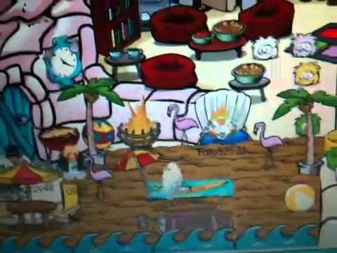 Club Penguin - Beach Igloo