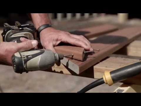 FastenMaster PROStar PROTips Gary Daley - Picture Framing Stair Treads