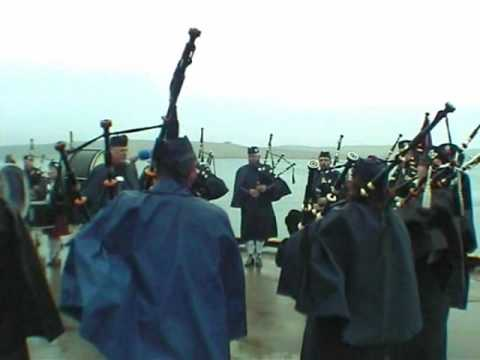 Up Helly Aa 2010 Lerwick Pipe band