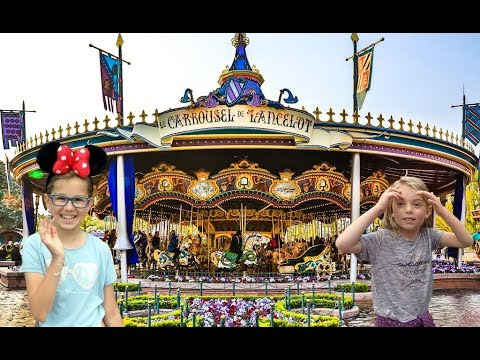 Le Carrousel de Lancelot Biggest Carousel in the World Euro Disneyland