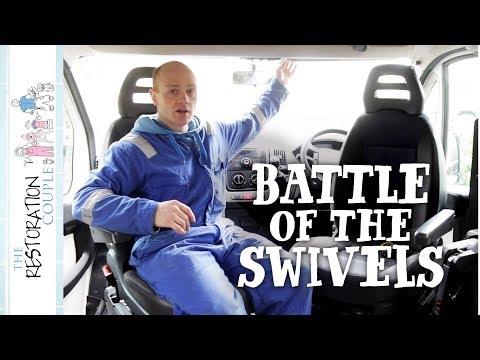 Why an Offset Swivel Seat?   TRC Van Conversion