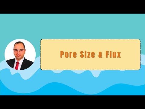 Pore Size & Flux