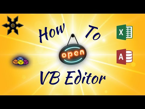 Understanding VBA Code: How to Open the Visual Basic Editor in Excel