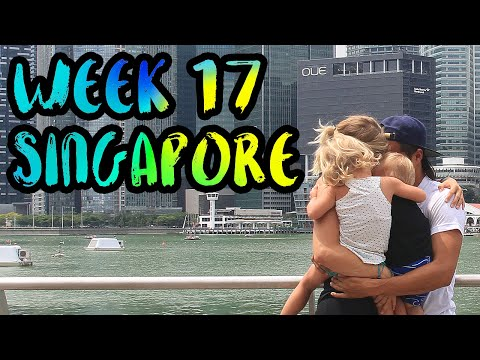 How to Travel with Kids!! Canceled Flights Because a Volcano in Bali!! /// WEEK 17 : Singapore