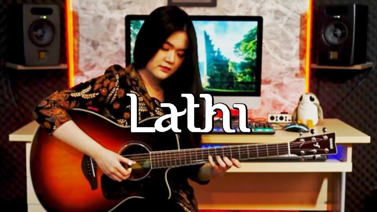 Download (Weird Genius ft. Sara Fajira) Lathi - Fingerstyle Guitar Cover | Josephine Alexandra MP3 Gratis