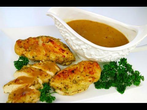 Simple Chicken Gravy #FoodFAQ | ChrisDeLaRosa.com