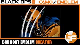 black ops 3 emblem tutorial 022 dbz son gohan babifoot daikhlo