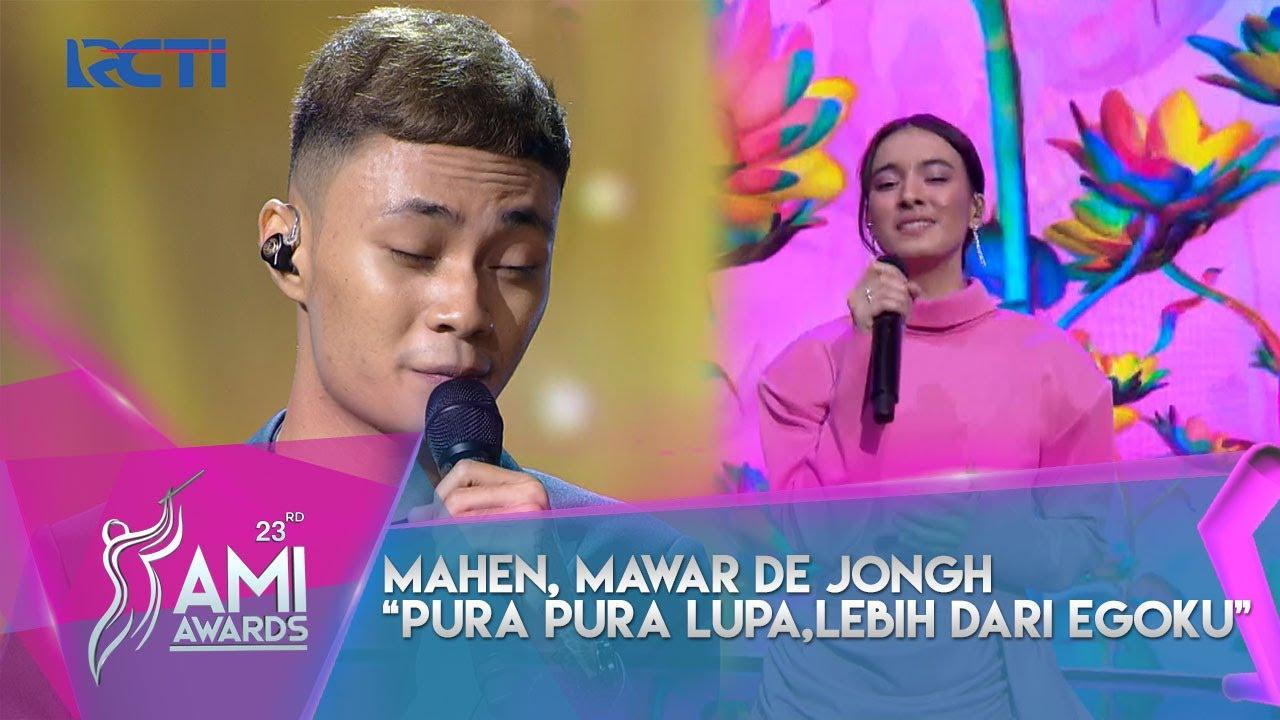 "Download Mahen X Mawar De Jongh ""Pura-Pura Lupa X Lebih Dari Egoku|AMI AWARDS 23rd | 2020 MP3 Gratis"