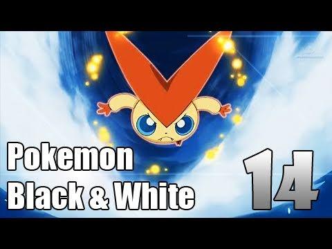 Pokémon Black & White - Episode 14 | Liberty Garden and Victini Event!