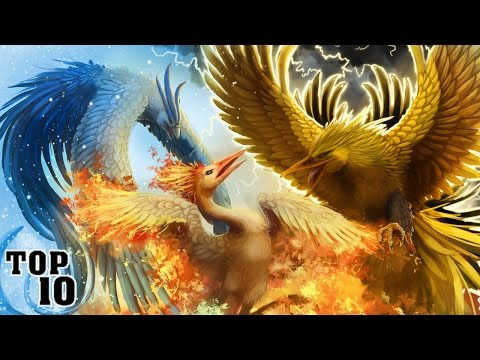 Top 10 Facts About Legendary Bird Pokemon