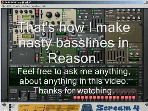 Drum and bass reason tutorial backingtrack in reason 9 (#re-dnb7.