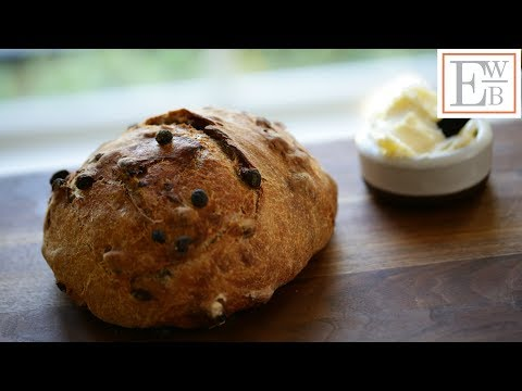 Beth's No-Knead Cinnamon Raisin Bread Recipe | ENTERTAINING WITH BETH