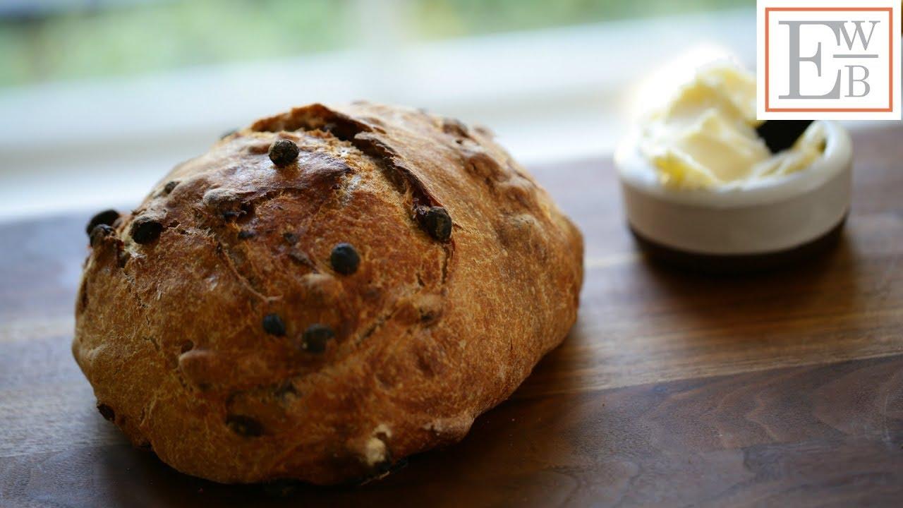 Beth's No-Knead Cinnamon Raisin Bread Recipe | ENTERTAINING WITH BETH