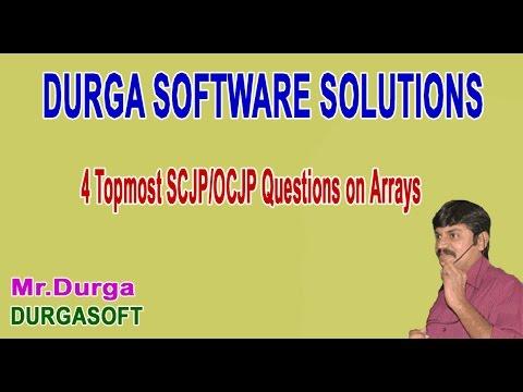 SCJP/OCJP 4 Topmost Questions on Arrays