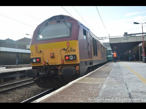DBS 67028 on London Midland Ruggex Departs Coventry Arena   28/02/16.
