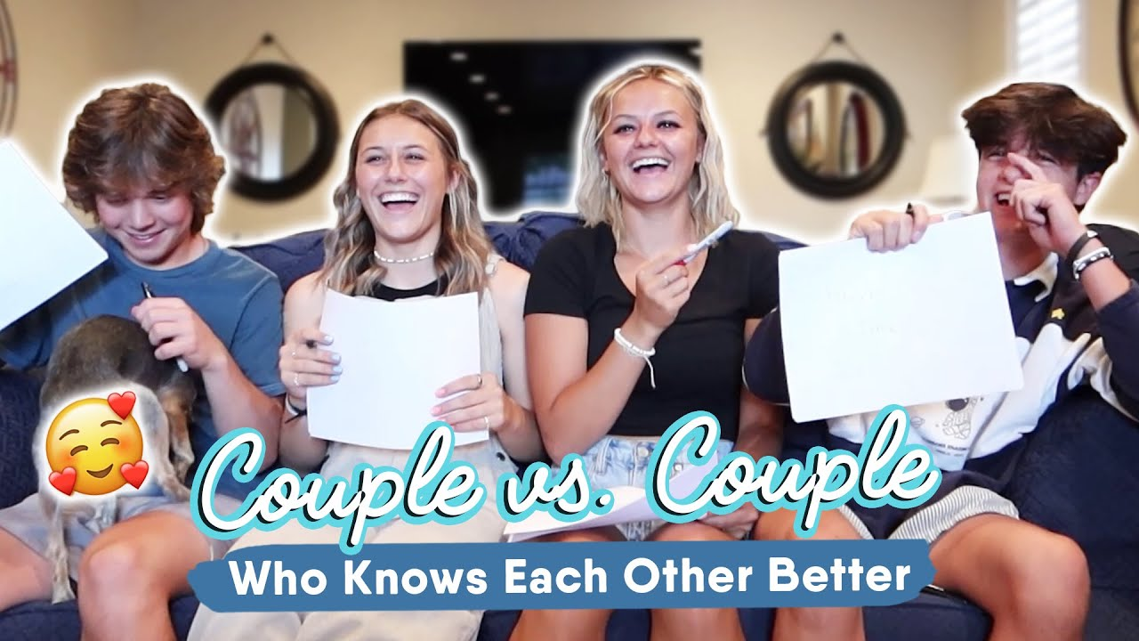 Couple Vs. Couple/ Who Knows Each Other Better