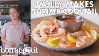 Molly Makes Classic Shrimp Cocktail | From the Test Kitchen | Bon Appétit