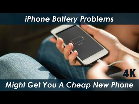 iPhone - How Much Does It Cost To Have Apple Replace A Battery - 4K