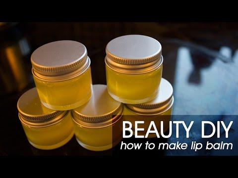 DIY: How to Make Lip Balm