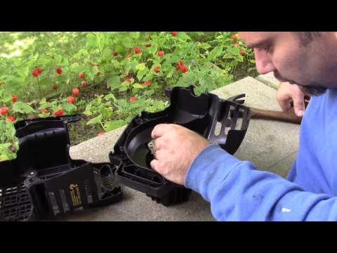 How To - Replacing Starter Recoil 4 Stroke String Trimmer
