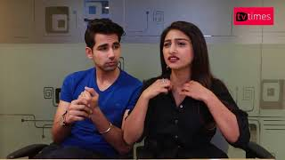 Mohena Singh and Rishi Dev reveal their fun side